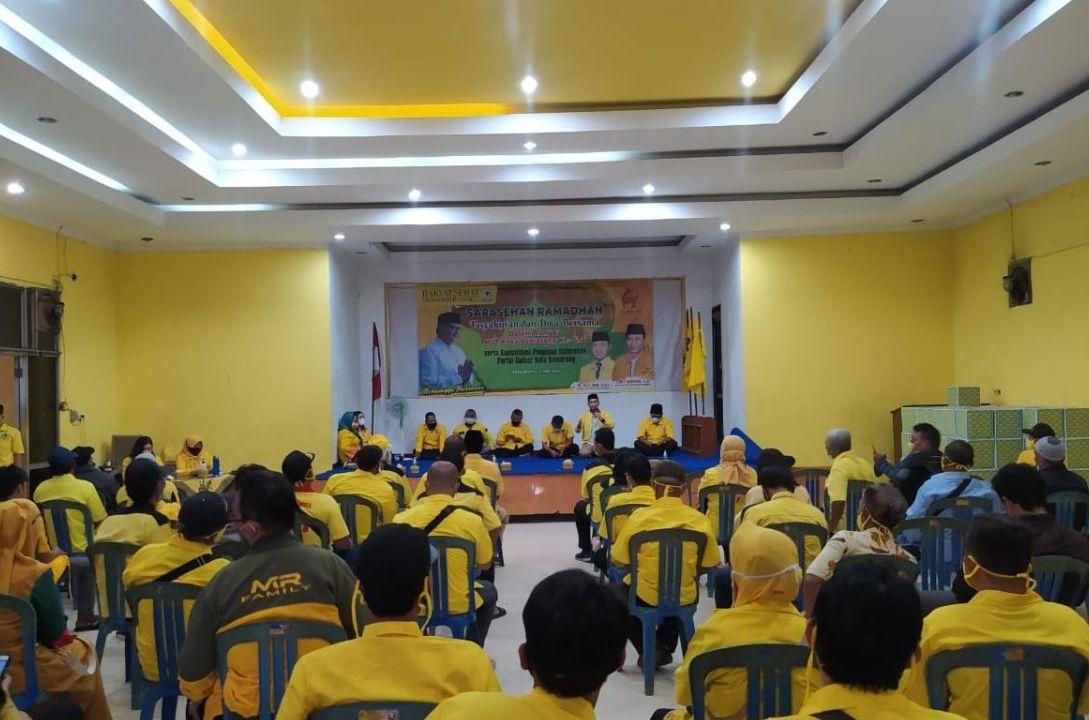 Ikut Rayakan HUT Ke-474 Kota Semarang, Golkar Bagikan 400 Paket Sembako Untuk Anak Yatim Piatu