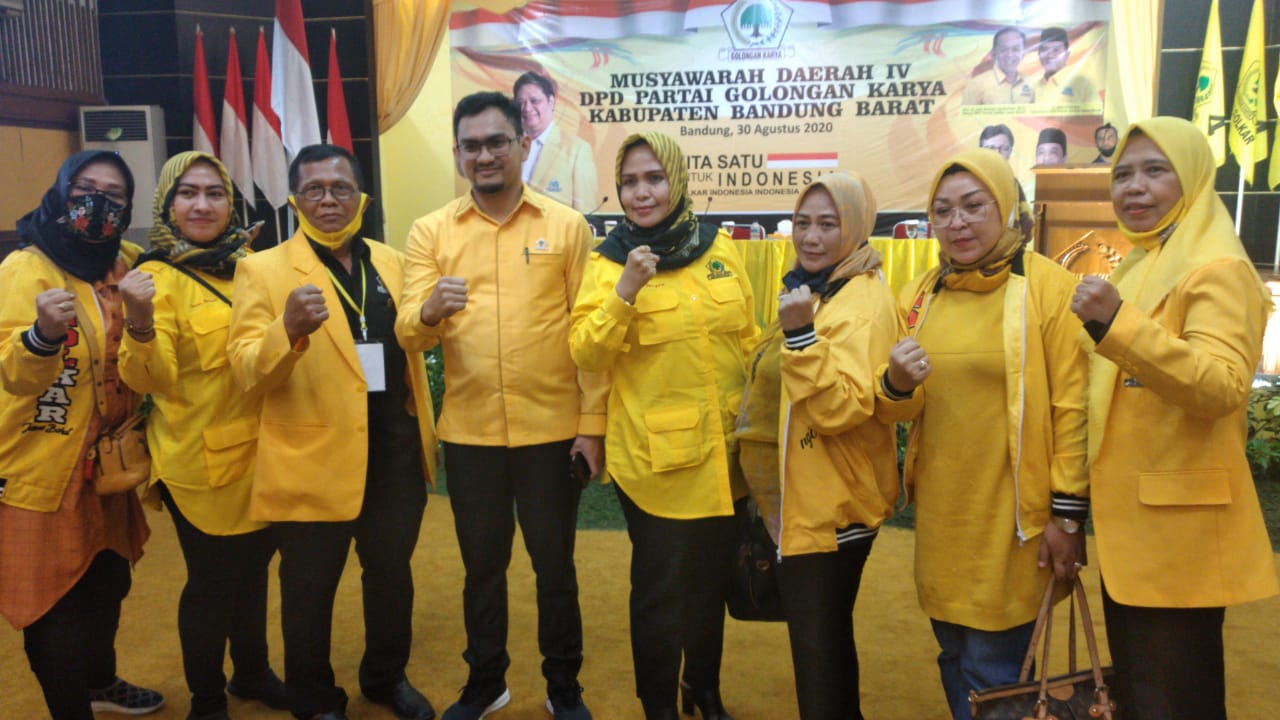 Terpilih Pimpin Golkar Bandung Barat, Fery Pamawisa Siapkan Regenerasi dan Pengkaderan