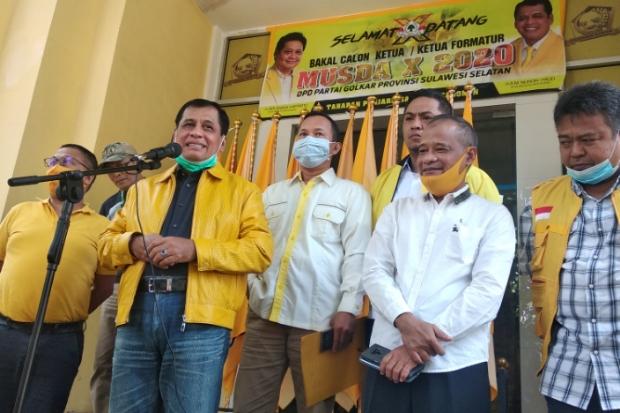 Nurdin Halid Minta Musda Golkar Sulsel Digelar di Jakarta, Ini Alasannya